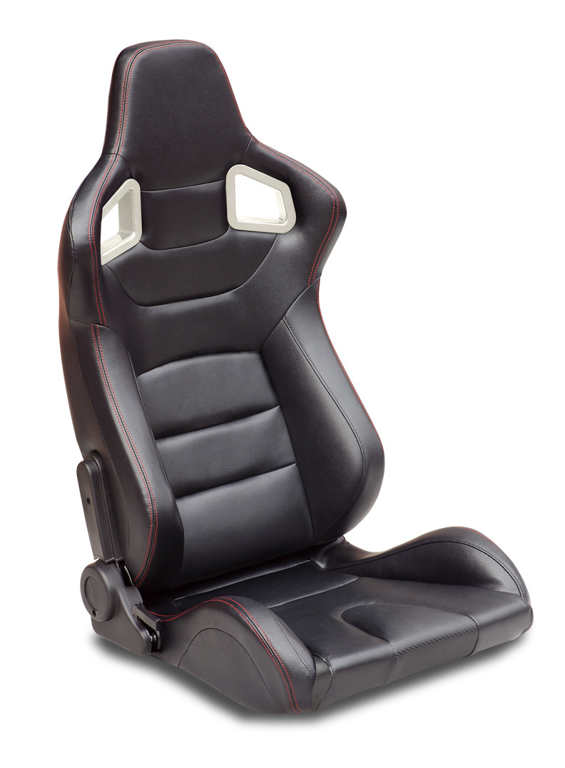 Professional Automobile Bucket Seats , Lightweight Racing Seats With Harness